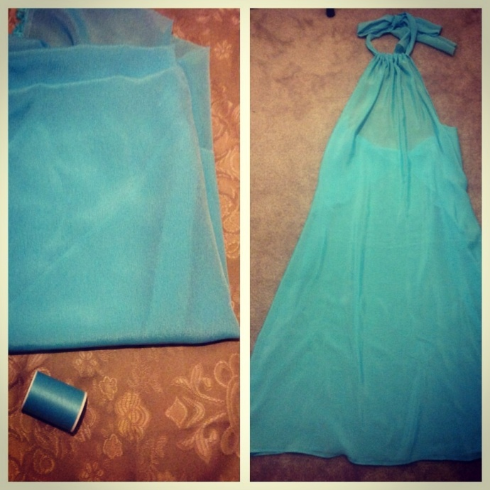 DIY (making your own beach cover up)