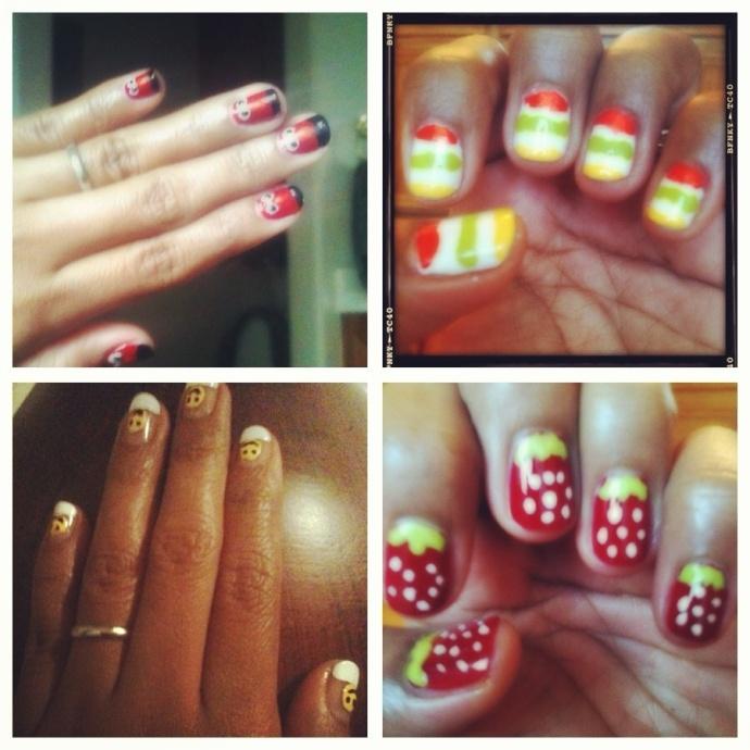 My nail arts DIY